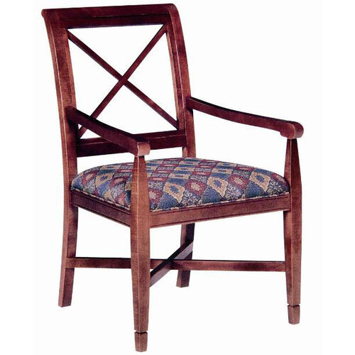 4610 Arm Chair w/ Upholstered Seat - Grade 1