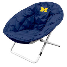 University of Michigan Team Logo Folding Sphere Chair