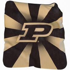 Purdue University Team Logo Raschel Throw