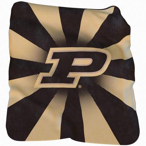 Our Purdue University Team Logo Raschel Throw is on sale now.