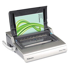 Fellowes® Galaxy Electric Wire Binding System - 130 Sheets - 17 3/4 x 19 11/16 x 6 1/2 - Gray