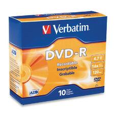 Verbatim Dvd-R Recordable Disc - Pack Of 10
