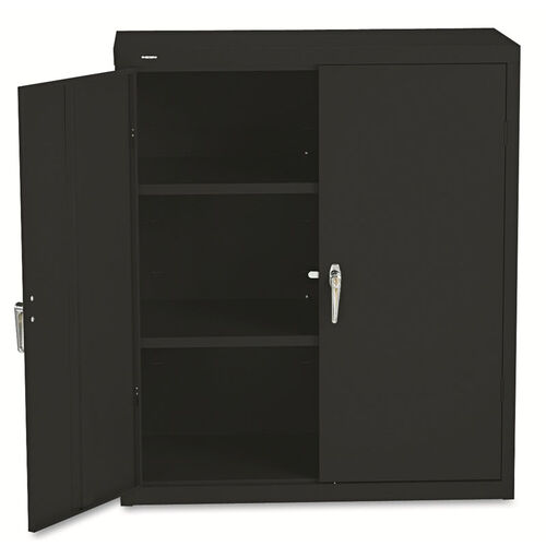 Our HON® Assembled Storage Cabinet - 36w x 18-1/4d x 41 3/4h - Black is on sale now.