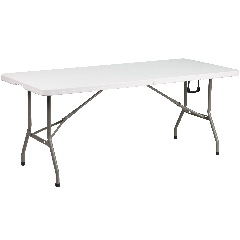 30u0027u0027W X 72u0027u0027L Bi Fold Granite White Plastic Folding