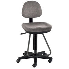 Viceroy Adjustable Height Artist/Drafting Chair - Gray
