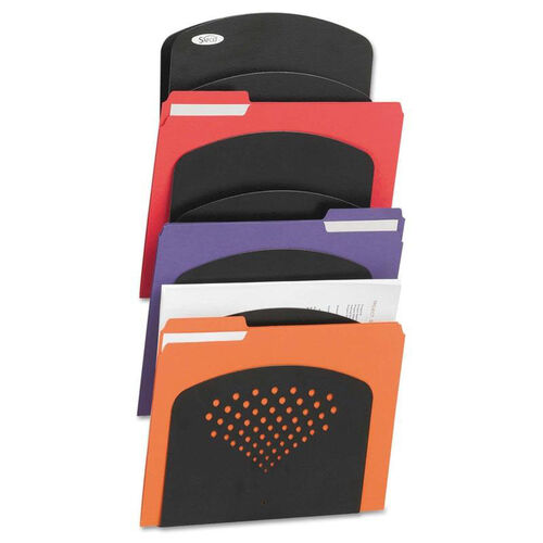 Our Safco® Steel Wall Rack - Letter/Legal - Seven Pocket - Black - 91/2 x 2 x 21 3/4 is on sale now.