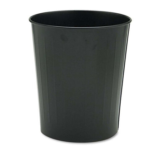 Our Safco® Round Wastebasket - Steel - 23.5qt - Black is on sale now.