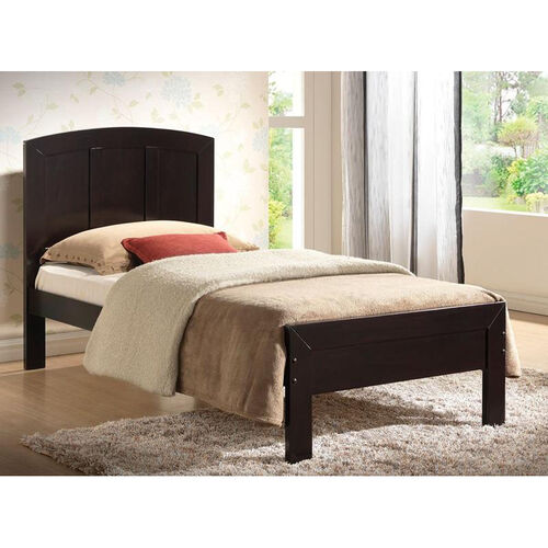 Our Donato Wood Panel Bed - Twin - Wenge is on sale now.