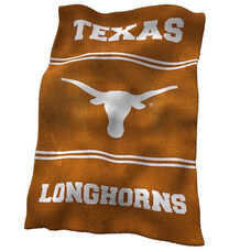 University of Texas Team Logo Ultra Soft Blanket