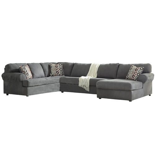 Our Signature Design by Ashley Jayceon 3-Piece Left Side Facing Sofa Sectional in Steel Fabric is on sale now.