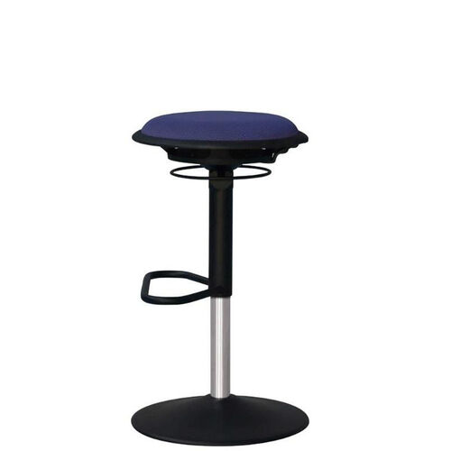 Our Jax Mesh Stool with Footrest and Round Seat - Navy is on sale now.