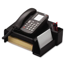 Rolodex Telephone Stand - Wood - Black