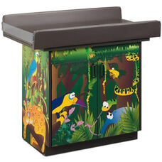 Imagination Series Infant Blood Drawing Station with 2 Doors - Rainforest Follies