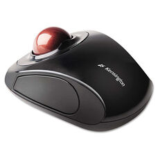 Kensington® Orbit Wireless Trackball - Black/Red