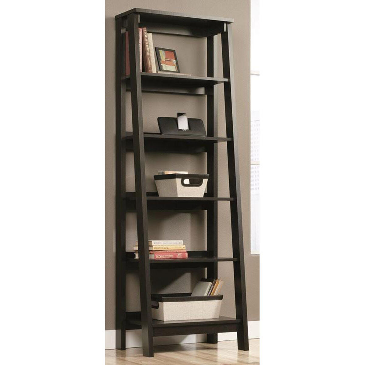 Our Select Collection 71125H Ladder Bookcase