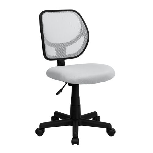 Our Low Back White Mesh Swivel Task Office Chair is on sale now.