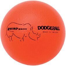 Rhino Skin Dodgeball Set Low Bounce in Neon Orange