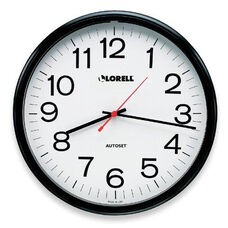 Lorell Wall Clock -13 -1/4