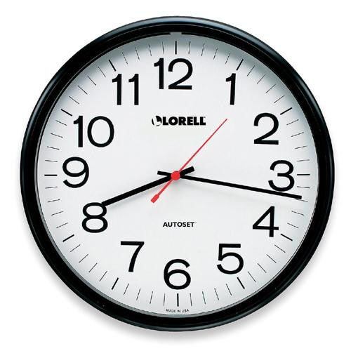 Lorell Wall Clock -13 -1/4