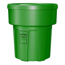 30 Gallon Cobra Food Grade/General Use Trash Can - Green