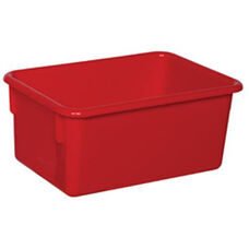 Solid Red Plastic Cubby Trays - Assembled - 8