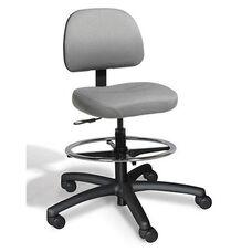 Dimension Medium Back Mid-Height Drafting Chair - 2 Way Control