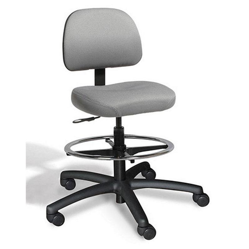 dimension medium back midheight drafting chair 2 way control