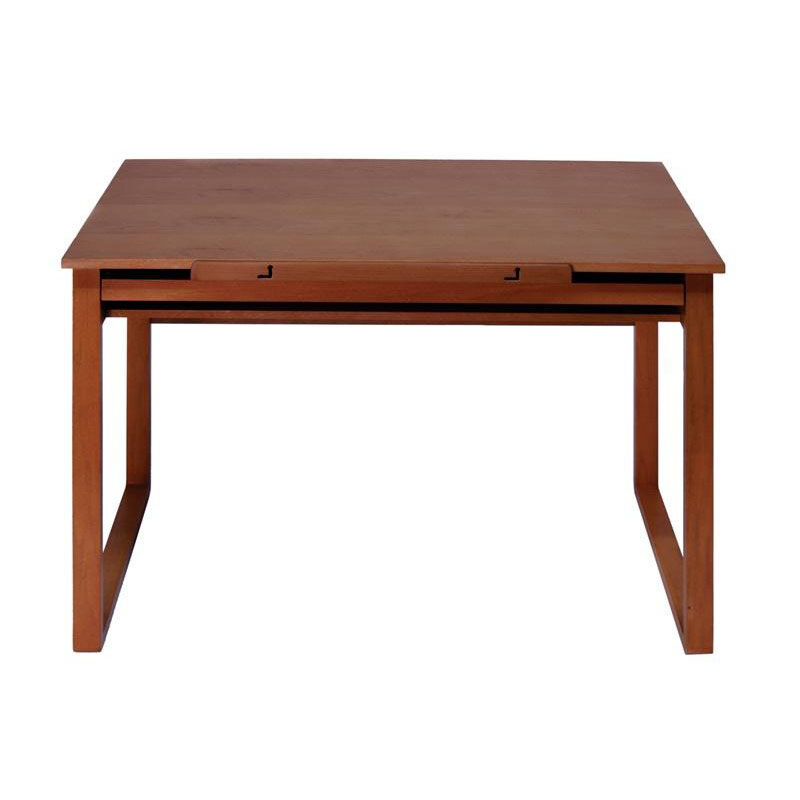... Our Ponderosa Wood Drafting Table With Adjustable Angle Top And Storage  Drawer   Sonoma Brown Is ...