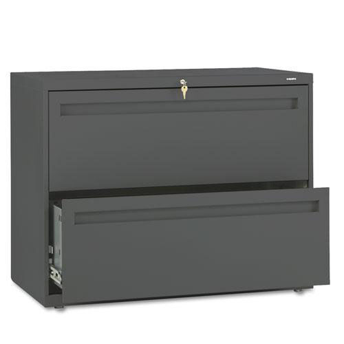 Our HON® 700 Series Two-Drawer Lateral File - 36w x 19-1/4d - Charcoal is on sale now.