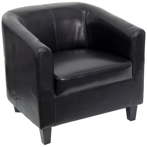 Our LeatherSoft Lounge Chair with Sloping Arms is on sale now.