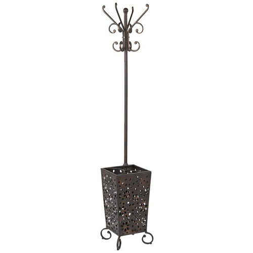 Our OSP Designs Middleton Coat Rack with Umbrella Stand - Antique Bronze is on sale now.