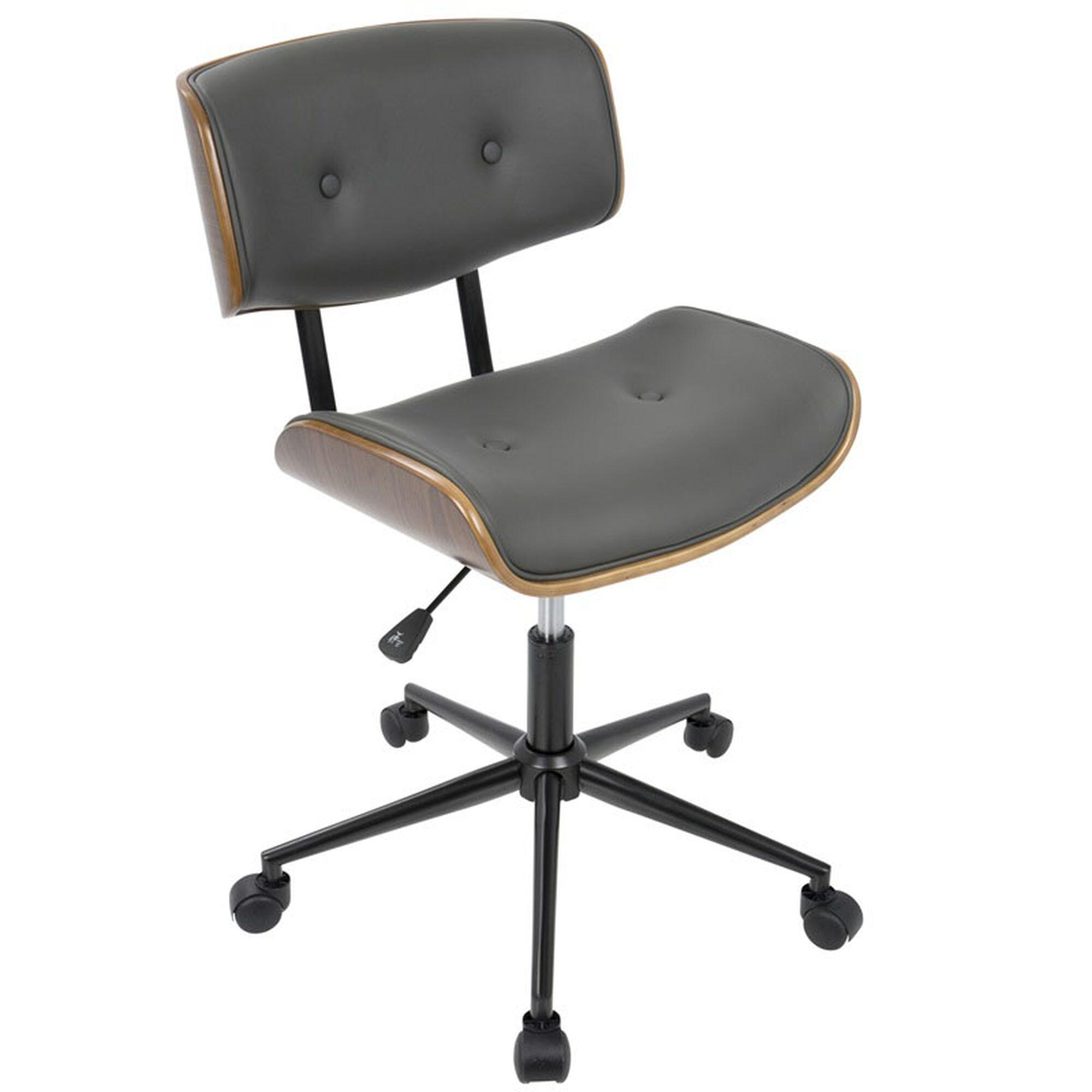 Lombardi Grey Office Chair Oc Jy Lmb Wl Gy Bizchaircom