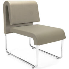 UNO Lounge Chair - PU Taupe