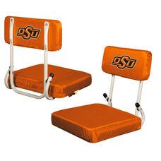 Oklahoma State University Team Logo Hard Back Stadium Seat