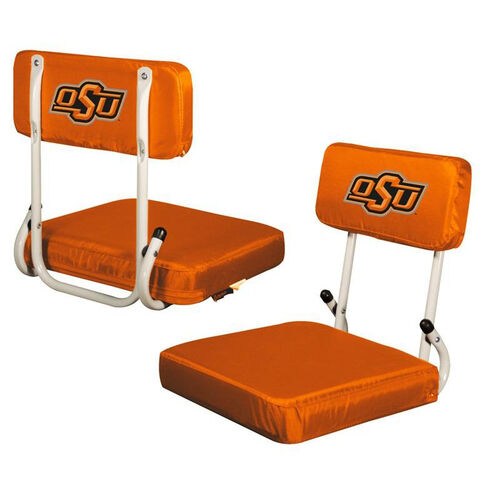 Our Oklahoma State University Team Logo Hard Back Stadium Seat is on sale now.