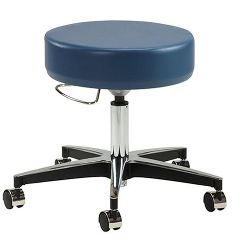 Our Adjustable Pneumatic Stool - Black Base - Chrome Casters is on sale now.