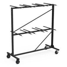 Two Tier Folding Chair Storage Rack 31