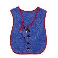 Combo Zipper / Button Vest - 17.5