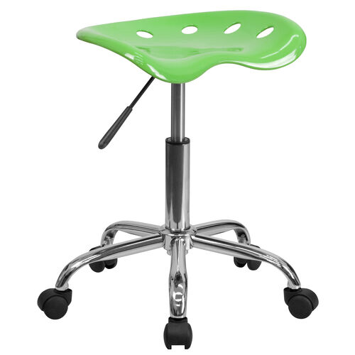 Our Vibrant Apple Green Tractor Seat and Chrome Stool is on sale now.