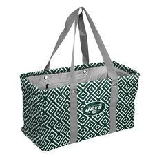 New York Jets Team Logo Double Diamond Picnic Carry All Caddy