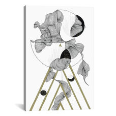 Subtle Chaos by Illustrating Rain Gallery Wrapped Canvas Artwork