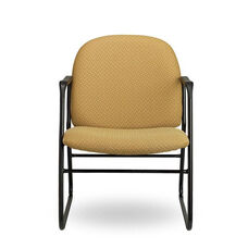 Pearl II 400 Series Sled Base Guest Chair with Arms