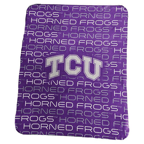 Our Texas Christian University Team Logo Classic Fleece Throw is on sale now.