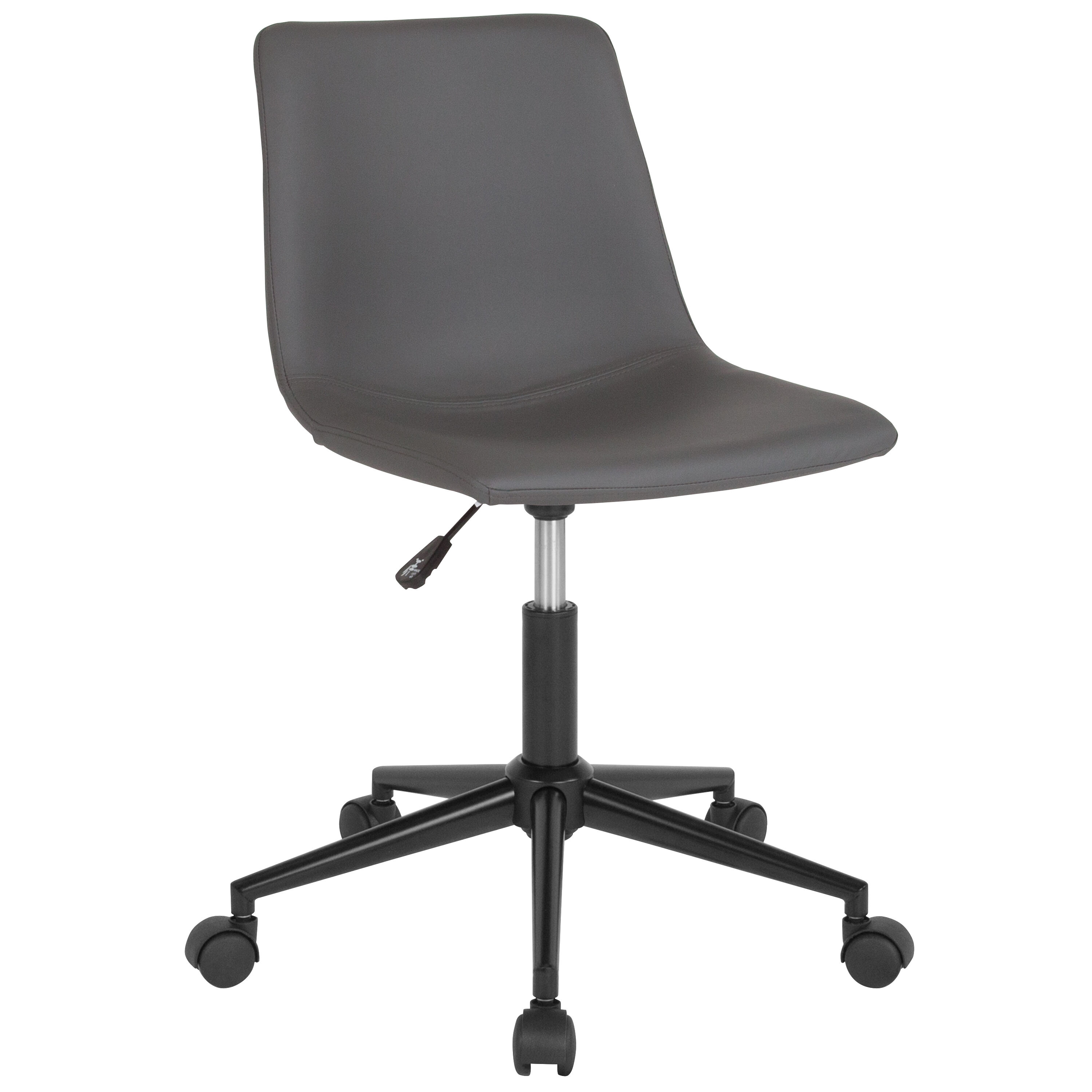 Our Siena Home and Office Task Chair in Gray Leather is on sale now.  sc 1 st  Biz Chair & Gray Leather Task Chair DS-530A-GRY-GG | Bizchair.com