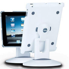 ViewStation for iPad 2 - White Shell with White and Gray Base