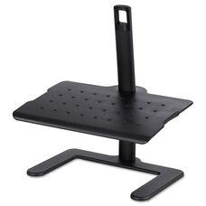 Safco® Black Height Adjustable Footrest - 20