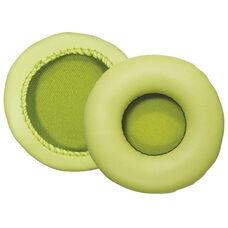 Yellow Kidzphonz Replacement Leatherette Headphone Ear Cushions