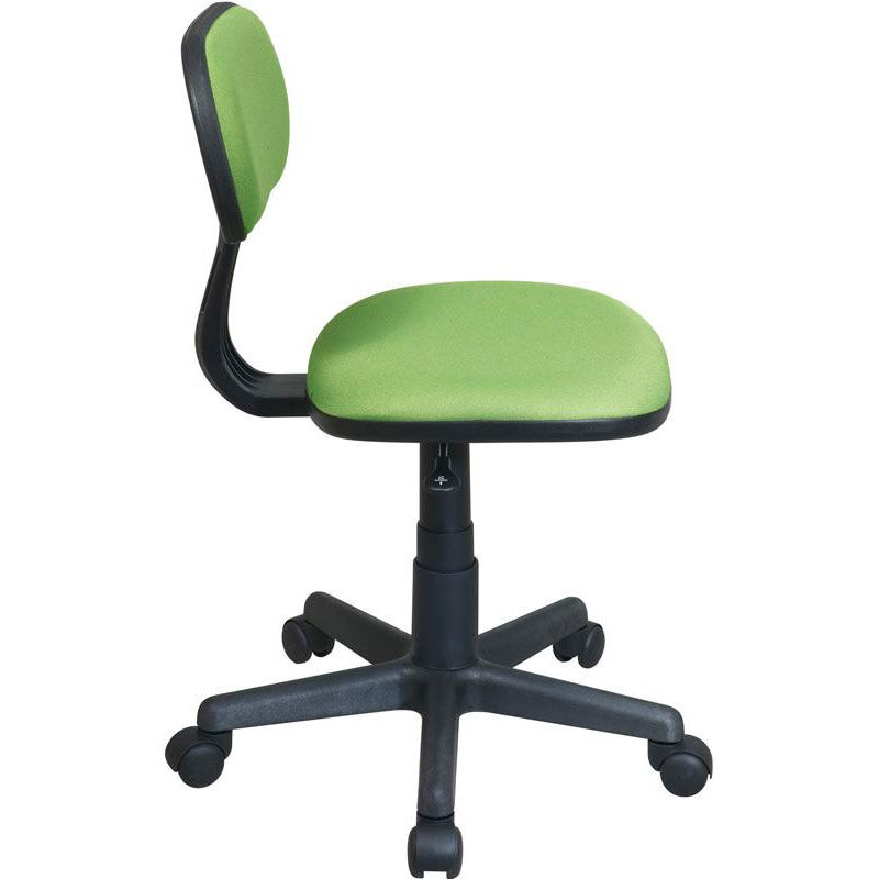 ... Our OSP Designs Armless Computer Task Chair with Seat Height Adjustment and Casters - Green is  sc 1 st  Bizchair.com & Green Armless Task Chair 499-6 | Bizchair.com