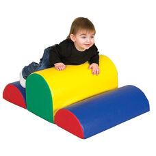 SoftZone® Bright Colors Vinyl Covered Foam Speed Bump Beginners Climber
