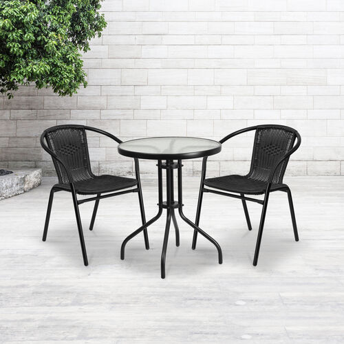 Our 2 Pack Rattan Indoor-Outdoor Restaurant Stack Chair is on sale now.